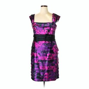 JONES NEW YORK JNY Tiered Cocktail Dress